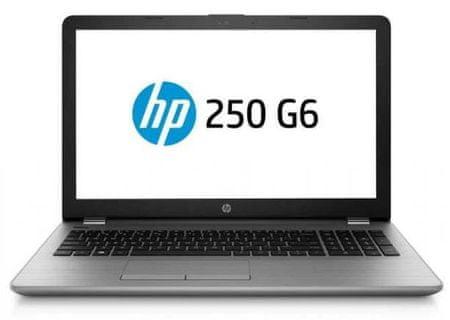 HP prijenosno računalo 250 G6 i3-7020U/8GB/SSD256GB/Radeon520/15,6FHD/FreeDOS