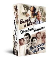 Kolekce Divadelní adaptace (2DVD): Brouk v hlavě + Jak je důležité míti Filipa - DVD