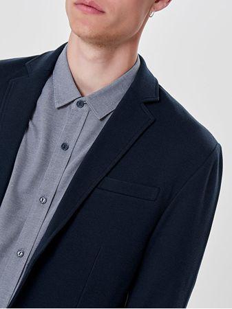 026edea15e ONLY SONS Pánske sako Zavier Blazer Dress Blues (Veľkosť XL)