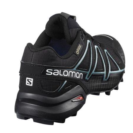 Salomon buty biegowe Speedcross 4 Gtx W BlackBlackMetallic Bubble Blue 38.7