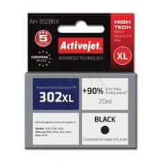 ActiveJet črnilo HP 302XL F6U68AE, črno