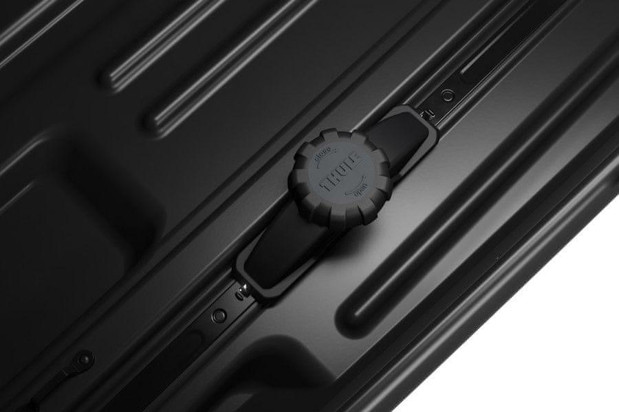 Strešni kovček Force XT Aeroskin, M, črn