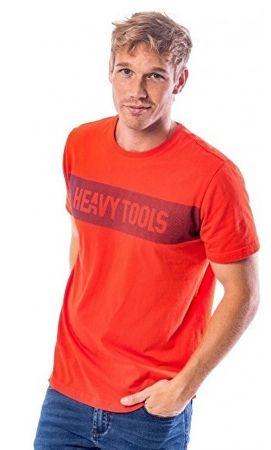 Heavy Tools Férfi póló Mavyl W18-233 Orange (méret L)