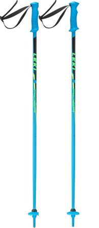 Leki Rider blue-black-green-yellow 80 modrá/čierna
