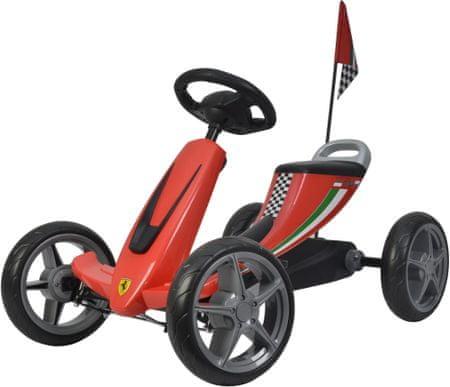 Buddy Toys BPT 2001Ferrari Go Kart - zánovní