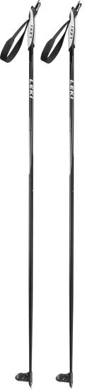 Leki Vasa Junior black/white-anthracite-silver 85