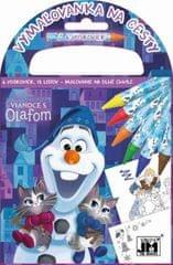 Disney: Vymaľovanka na cesty/ Vianoce s Olafom