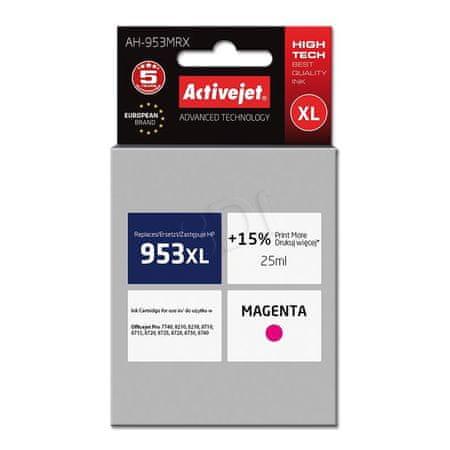 ActiveJet črnilo HP 953XL F6U17AE, magenta