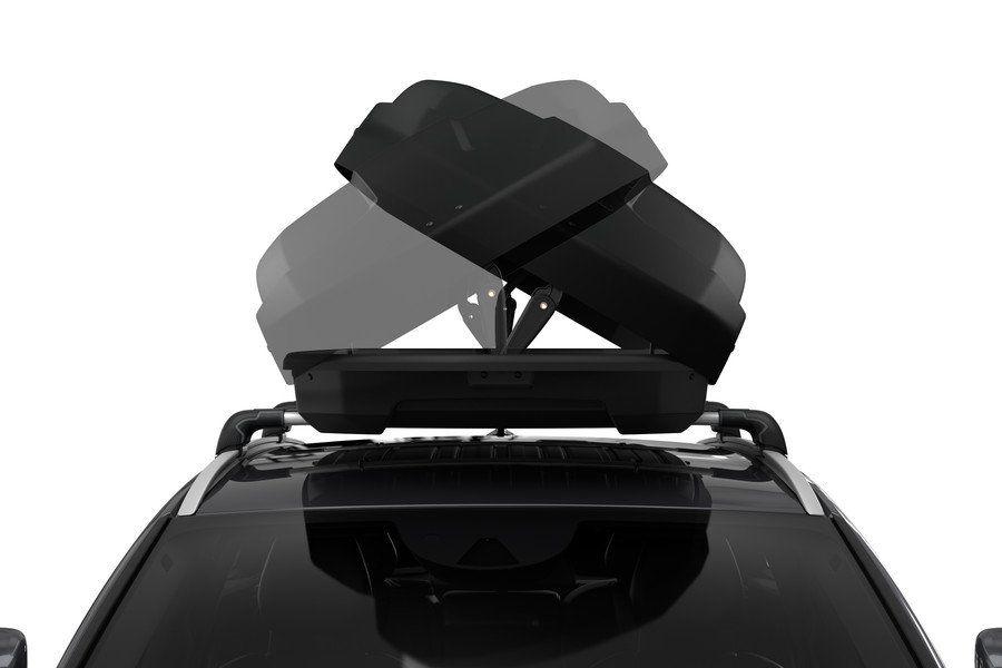 Strešni kovček Force XT Aeroskin, XL, črn