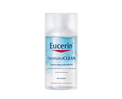 Eucerin dvofazni odstranjevalec vodoodpornih ličil za oči, DermatoCLEAN, 125ml