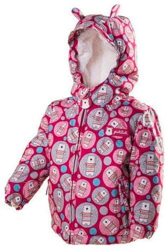 PIDILIDI zimní bunda 80 růžová