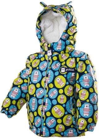 PIDILIDI zimska jakna za djevojčice, plava, 92