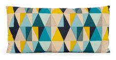 My Best Home SANDWIK polštář, motiv A modro/žlutá