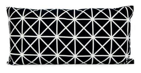 My Best Home SANDWIK polštář, motiv E černo/bílá