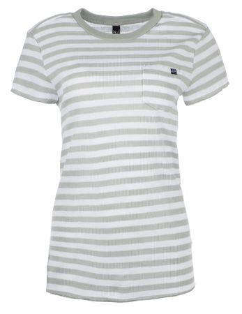 FOX T-shirt damski Striped Out Crew XS kremowy