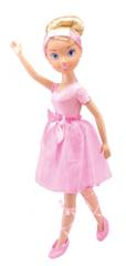 Alltoys Princezna 80 cm s doplňky a šaty pro holčičku