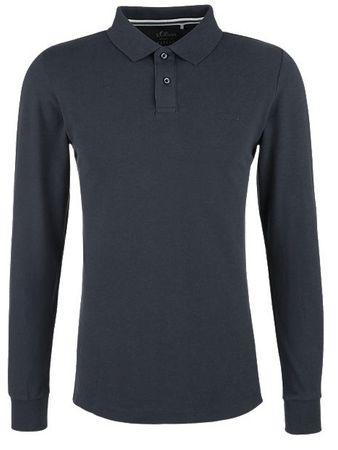 s.Oliver koszulka polo męska M ciemnoniebieski