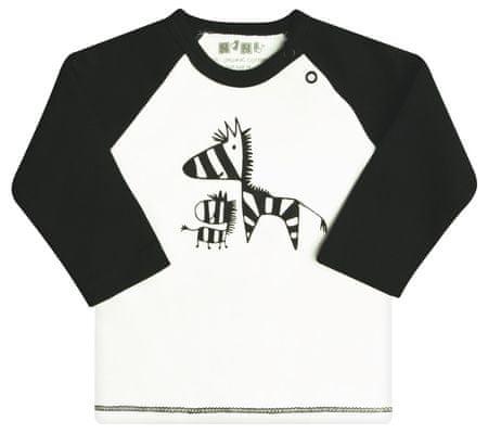 Nini chlapecké tričko 62 bílá/černá