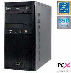 PCX namizni računalnik EXAM G2050 G5400/4GB/SSD120GB/FreeDOS (PCX EXAM G2050)