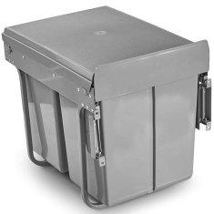 VonHaus koš za smeće ugradbeni, 40 L