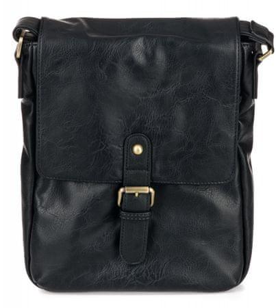 Bobby Black muška torbica, crna