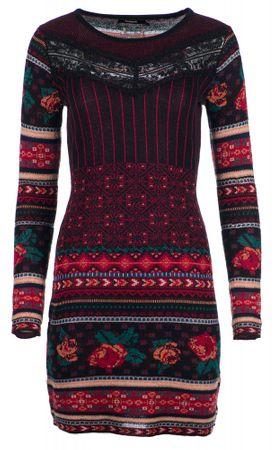 Desigual ženska haljina Naila, crvena, M