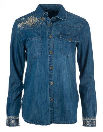 Desigual ženska srajca Exotic Classic, S, modra