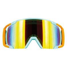 Motocyklové crossové okuliare S-line Scrub MX modrá-oranžová-modrá