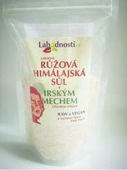 Lahodnosti Růžová himalájská sůl s irským mechem 400 g