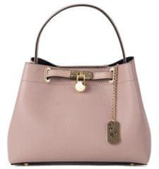 Anna Morellini světle růžová kabelka