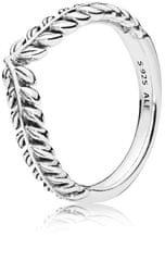 Pandora Srebrni prstan z ušesi koruze 197681 srebro 925/1000