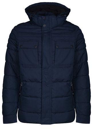 s.Oliver Férfi kabát 28.809.51.8106 .5920 Blue (méret L)