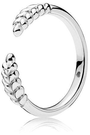 Pandora Srebrny pierścionek z kłosowymi uszami 197699 (obwód 54 mm) srebro 925/1000