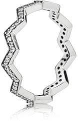 Pandora Štýlový strieborný prsteň 197751CZ striebro 925/1000