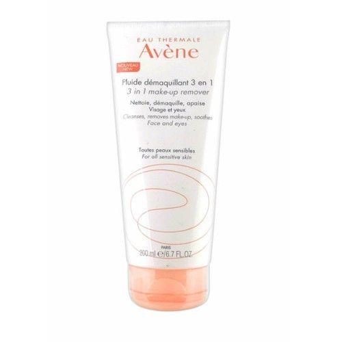 Avéne Odličovacie fluid 3v1 (Make-Up Remover) 200 ml