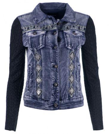 Desigual Silver női kabát 36 kék
