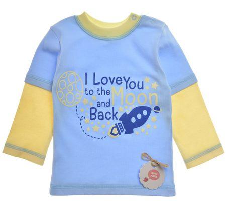 Garnamama majica za dječake, 80, plava
