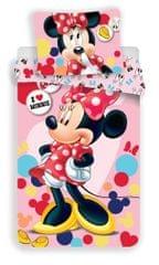 Jerry Fabrics Dziecięca pościel Minnie różowy 02