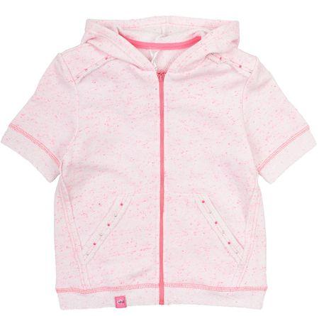 Garnamama dívčí mikina/vesta 80 růžová