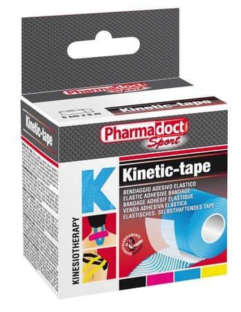 Pharmadoct kineziološki trak, moder, 5cm x 5m