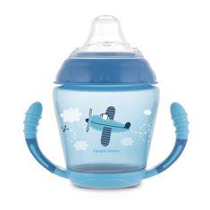 Canpol babies nevylievací hrnček so silikónovým náustkom 230 ml Toys