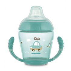 Canpol babies kubek niekapek z silikonowym smoczkiem 230 ml Toys