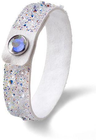 Oliver Weber Ocean Disco fehér karkötő kristályokkal 32190 WHI