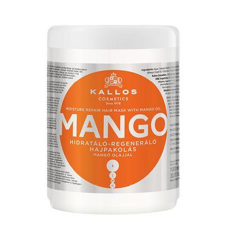 Kallos Maska nawilżająca z olejem mango (Mango Mask) (objętość 275 ml)