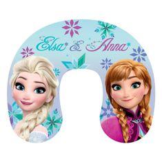"""Jerry Fabrics Cestovný vankúšik Frozen """"Anna a Elsa"""""""