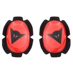 Dainese kolenní slidery PISTA RAIN, fluo červená/černá (pár)