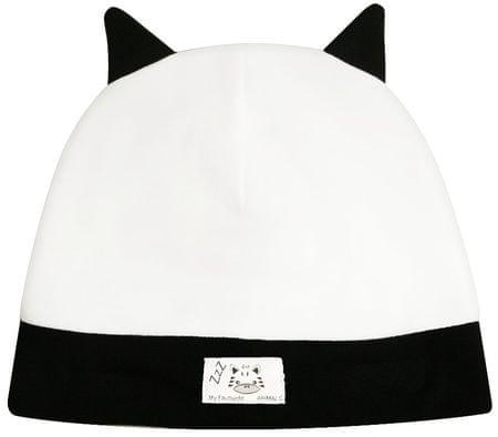 Nini fiú sapka 38 fehér/fekete