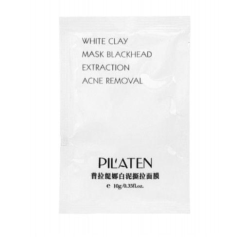 Pilaten Čistiaca maska proti čiernym bodkám (White Clay Mask) 10 g