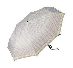 Esprit Mini Basic alapnyomtatott Mini Basic Umbrella nyomtatott szürke, sárga szegéllyel