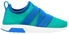 Native chłopięce buty Phoenix glacier green/storm blue/shell white